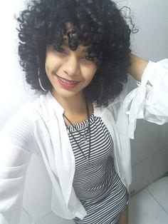 #Cachos #Cacheada #Look #Smile #Covinha
