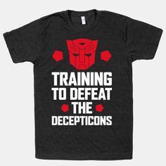 Training to Defeat the Decepticons  | HUMAN