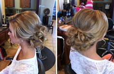 low updo