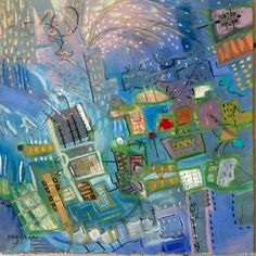 Night in the City SOLD