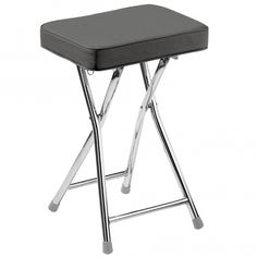 We are proud to introduce this beautiful Folding Stool. It has a magnificent design which looks very simplistic, as well as providing an excellent seat that is both comfortable and practical. Contemporary Lounge, Contemporary Bedroom, Modern Bedroom, Contemporary Furniture, Modern Interior Design, Luxury Interior, Modern Stools, Folding Stool, Luxury Decor