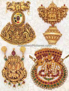 Antique Pendants Latest Indian Jewelry - Jewellery Designs