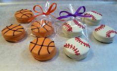 Chocolate Covered Oreo Baseball or Oreo Basketball by MarieGrahams, $18.00