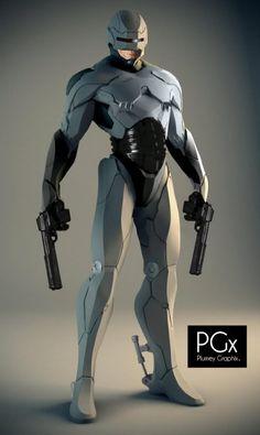 Robocop Concept Art.