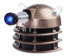 Character Options Doctor Who Dalek Voice Changer Helmet This item is no longer manufactured. What you are checking out is a pre-owned but fully functioning Dalek Helmet with voice changer. Pop this on your head and Ex-ter-minate to your hearts delight. Great collectible piece and a terrific start to the ultimate costume. Made to replicate …