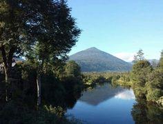 Volcán Hornopirén. Carretera Austral.