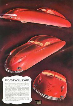 Phantom Corsair Esquire Advertisement