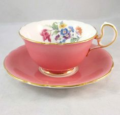 gorgeous cup and saucer