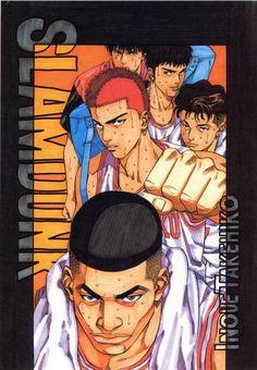 Takehiko Inoue, Slam Dunk, Takenori Akagi, Hisashi Mitsui, Ryota Miyagi