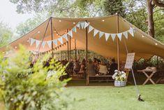 Laid Back Summer Garden Party Wedding in Stretch Tents Marquee Wedding, Tent Wedding, Wedding Attire, Rustic Wedding, Back Garden Wedding, Summer Wedding, Garden Party Decorations, Wedding Decorations, Wedding Ideas