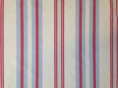 Clarke and Clarke Lulu Multi   Textile Express   Buy Fabric Printed cotton stripe suitable for curtains, soft furnishings and light upholstery. www.textileexpress.co.uk