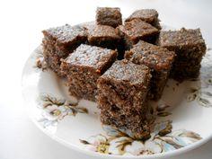 bögrés mákos - sugarfree dots Dairy Free, Gluten Free, Low Carb, Sweets, Diet, Snacks, Baking, Health, Desserts