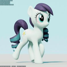 #1389296 - 3d, 3d model, animated, artist:therealdjthed, blender, coloratura, cute, earth pony, pony, rara, safe, solo, trot cycle, trotting, trotting in place, walk cycle, walking - Derpibooru - My Little Pony: Friendship is Magic Imageboard
