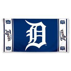 """Detroit Tigers Fiber Beach Towel 9lb 30"""" x 60"""""""