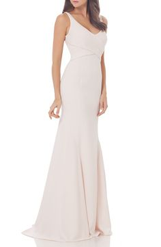 Carmen Marc Valvo Infusion Carmen Marc Valvo Infusion Mermaid Gown available at #Nordstrom