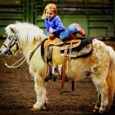 Cowgirl up.....even on the wrong side! Lol....