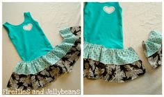 Making this!  Easy Toddler Summer Ruffle Dress Tutorial! - Easy explanation of making ruffles