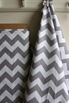 Chevron in Stone from Riley Blake Fabrics  ONE by SewFineFabric, $5.00