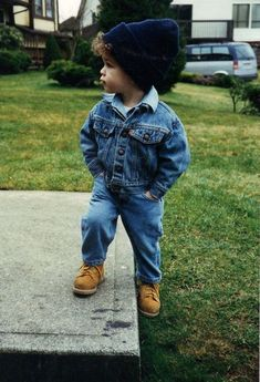 Cool little boy..