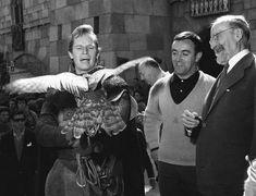 Charlton Heston y Sofia Loren. Epic Film, Film Movie, Sophia Loren, Felix Rodriguez, Actor Studio, Hollywood, George Lucas, Golden Star, Miguel Angel