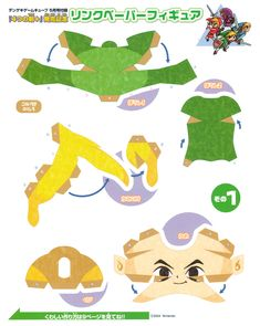 Toon Link from Zelda: The Wind Waker.  Part 1.  Although, the little artwork on the top is from The Four Swords.  Difficulty level: Normal.