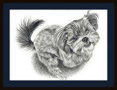 """Lily"" ~ Graphite Pencil Sketch  ~ http://www.gensart.net"