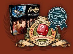 The EOG is giving away a copy of Firefly: The Game to celebrate their new site launch!