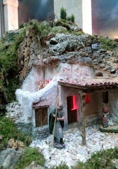 1 million+ Stunning Free Images to Use Anywhere Fontanini Nativity, Christmas Nativity Scene, Nativity Crafts, Christmas Tea, Christmas Villages, Medieval Houses, Free To Use Images, Fairy Garden Houses, Decoupage Vintage