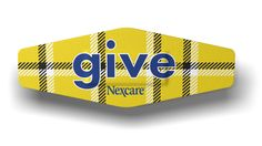 Nexcare™ Give 2012 Limited Edition 1990's Grunge Plaid bandage