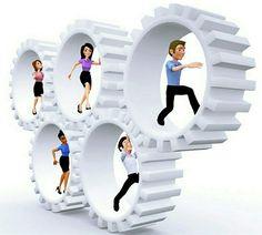 Trabajar en equipo, divide el trabajo y multiplica los resultados