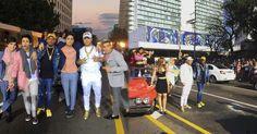 Yomil y El Dany junto a Ángeles cierran La Rampa para el rodaje de su último videoclip (+Video)