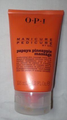 OPI Manicure/Pedicure Papaya Pineapple Massage