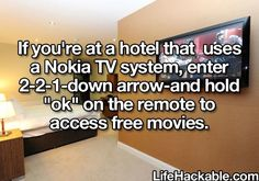 Free hotel movies