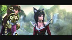League of Legends Cinematic: A New Dawn Deleted Scene 2014 Free Desktop Wallpaper, Wallpaper Downloads, League Of Legends, Dawn, Samurai, Batman, Scene, Princess Zelda, Superhero