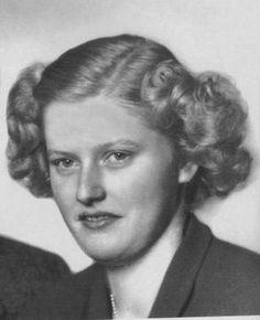 Adelheid of Austria (1914 - 1971). Daughter of Charles I and Zita of Bourbon-Parma.