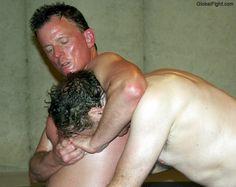 big daddybears headlock wrestling maneuvers pics