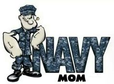 Popeye Navy Mom