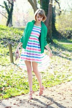 spring stripes on District of Chic by artsuneel