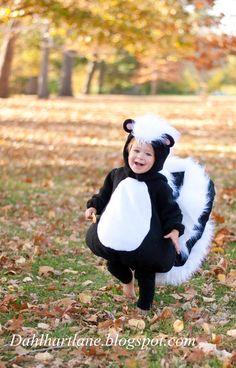 Skunk Costume by dahlhartlane on Etsy