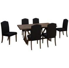 45bef479c12a Liberty Furniture-Carolina Lakes-Liberty Furniture Carolina Lakes 7 Piece Dining  Set - Jordan's Furniture