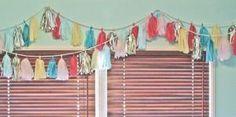 DIY: Tissue Tassel Garland by Naghma