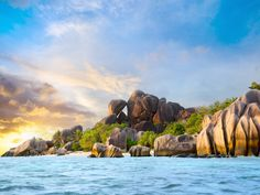 Anse Source d'Argent is one of the most popular beaches in the Seychelles…