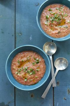 Meatless Mondays: Gazpacho #myplate #soup #vegetarian