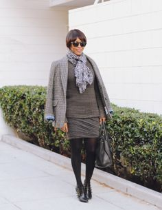 j'adore couture.: the new look: heathered layers.