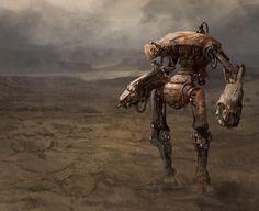 Robot in the Desert