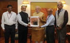 ISRO scientists present first Mangalyaan pictures of Mars to PM Narendra Modi