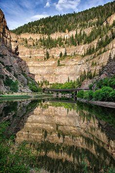 Glenwood Canyon   Beautiful Colorado drive!