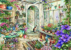 Мир уюта и добра, созданный художницей Kim Jacobs. Часть 2. Обсуждение на LiveInternet - Российский Сервис Онлайн-Дневников