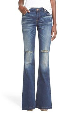 STS Blue 'Nikki' Flare Jeans (San Clemente) available at #Nordstrom