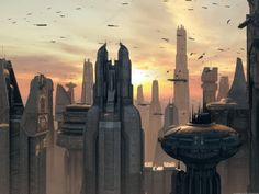 Coruscant http://images1.wikia.nocookie.net/__cb20080218041934/starwars/images/6/6b/Coruscant_view_EII_1.jpg